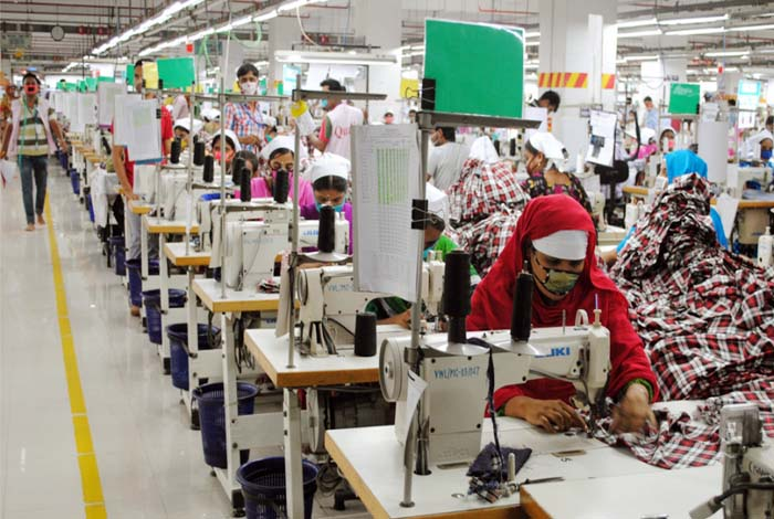 Garment workers