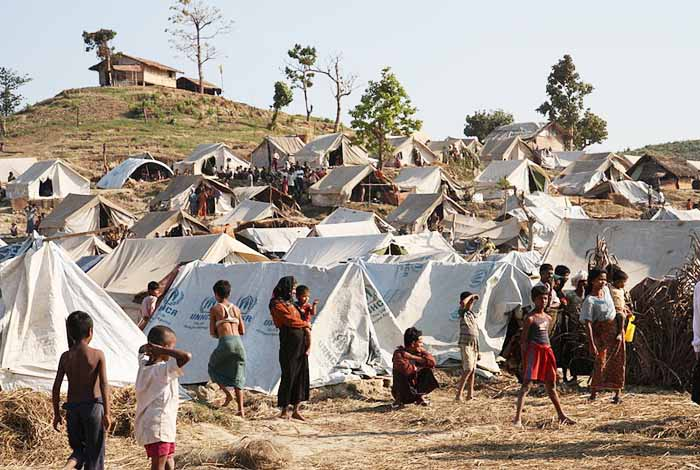 Rohingya camps